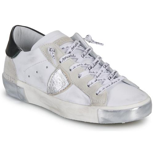 Scarpe Donna Sneakers basse Philippe Model PARIS Bianco