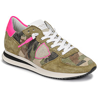 Scarpe Donna Sneakers basse Philippe Model TROPEZ X Camouflage