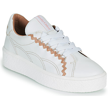 Scarpe Donna Sneakers basse See by Chloé SEVY Bianco / Rosa / Nude