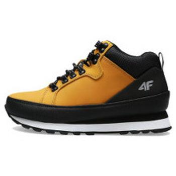 Scarpe Unisex bambino Sneakers alte 4F JOBMW002 Giallo
