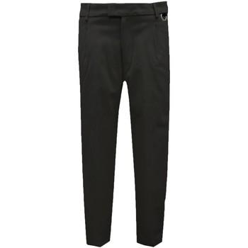 Abbigliamento Uomo Chino Low Brand Pantalone in cotone - Nero