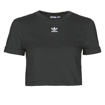 Abbigliamento Donna T-shirt maniche corte adidas Originals CROP TOP Nero