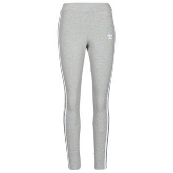 Abbigliamento Donna Leggings adidas Originals 3 STRIPES TIGHT Grigio