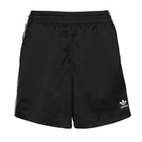 Abbigliamento Donna Shorts / Bermuda adidas Originals SATIN SHORTS Nero