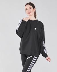 Abbigliamento Donna Felpe adidas Originals OS SWEATSHIRT Nero