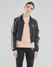 Abbigliamento Donna Giacche sportive adidas Originals SHORT TRACKTOP Nero