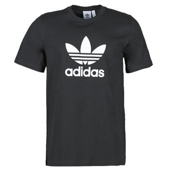 Abbigliamento Uomo T-shirt maniche corte adidas Originals TREFOIL T-SHIRT Nero