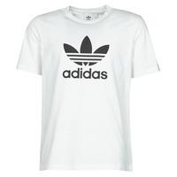 Abbigliamento Uomo T-shirt maniche corte adidas Originals TREFOIL T-SHIRT Bianco