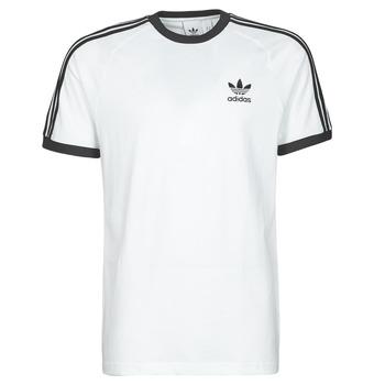 Abbigliamento Uomo T-shirt maniche corte adidas Originals 3-STRIPES TEE Bianco