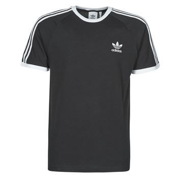 Abbigliamento Uomo T-shirt maniche corte adidas Originals 3-STRIPES TEE Nero