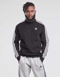 Abbigliamento Uomo Felpe adidas Originals 3-STRIPES CREW Nero