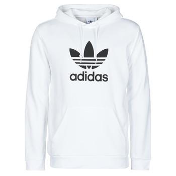 Abbigliamento Uomo Felpe adidas Originals TREFOIL HOODIE Bianco