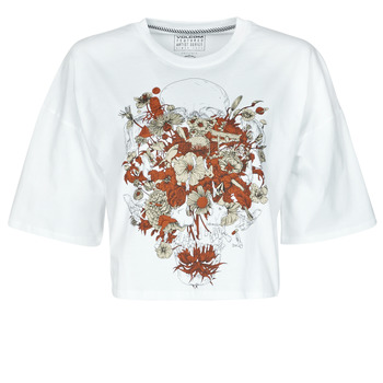 Abbigliamento Donna T-shirt maniche corte Volcom FA FORTIFEM TEE Bianco