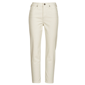 Abbigliamento Donna Jeans dritti Lee CAROL Ecru