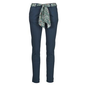 Abbigliamento Donna Chino Le Temps des Cerises LIDY Blu