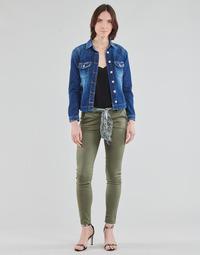 Abbigliamento Donna Chino Le Temps des Cerises LIDY Kaki