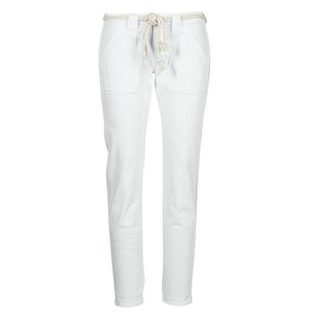Abbigliamento Donna Pantaloni 5 tasche Le Temps des Cerises EZRA Bianco
