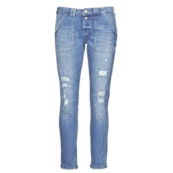 Abbigliamento Donna Jeans boyfriend Le Temps des Cerises CARA Blu