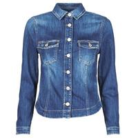 Abbigliamento Donna Giacche in jeans Le Temps des Cerises LILLY Blu