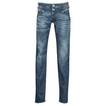 Abbigliamento Uomo Jeans slim Le Temps des Cerises 711 Blu