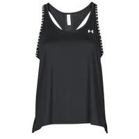 Abbigliamento Donna Top / T-shirt senza maniche Under Armour UA KNOCKOUT TANK Nero