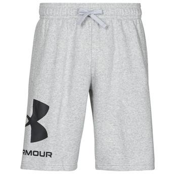 Abbigliamento Uomo Shorts / Bermuda Under Armour UA RIVAL FLC BIG LOGO SHORTS Grigio