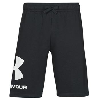 Abbigliamento Uomo Shorts / Bermuda Under Armour UA RIVAL FLC BIG LOGO SHORTS Nero