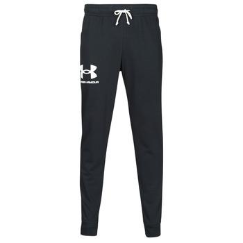 Abbigliamento Uomo Pantaloni da tuta Under Armour UA RIVAL TERRY JOGGER Nero