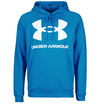 Abbigliamento Uomo Felpe Under Armour UA RIVAL FLEECE BIG LOGO HD Blu