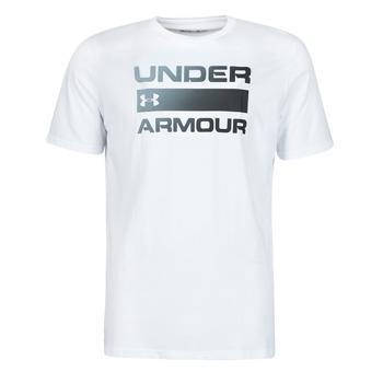 Abbigliamento Uomo T-shirt maniche corte Under Armour UA TEAM ISSUE WORDMARK SS Bianco