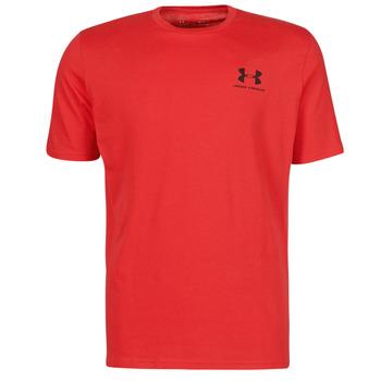 Abbigliamento Uomo T-shirt maniche corte Under Armour UA SPORTSTYLE LC SS Rosso