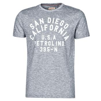 Abbigliamento Uomo T-shirt maniche corte Petrol Industries T-SHIRT SS R-NECK K Grigio