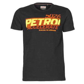 Abbigliamento Uomo T-shirt maniche corte Petrol Industries T-SHIRT SS R-NECK F Nero