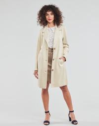 Abbigliamento Donna Cappotti Esprit SUEDE COAT Beige