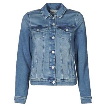 Abbigliamento Donna Giacche in jeans Esprit JOGGER JACKET Blu