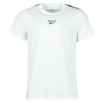 Abbigliamento Uomo T-shirt maniche corte Reebok Classic TE TAPE TEE Bianco