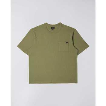 Abbigliamento Uomo T-shirt maniche corte Edwin T-shirt  Oversized vert kaki