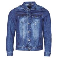 Abbigliamento Uomo Giacche in jeans Yurban OPSI Blu / Medium