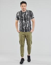 Abbigliamento Uomo Pantaloni 5 tasche Yurban OUNERI Kaki