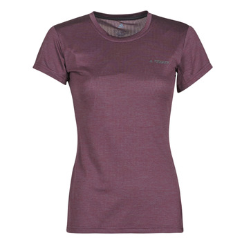 Abbigliamento Donna T-shirt maniche corte adidas Performance W Tivid Tee Viola