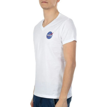 Abbigliamento Uomo T-shirt maniche corte Nasa -BALL/V Bianco