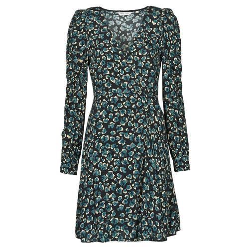 Abbigliamento Donna Abiti corti Naf Naf LEO R1 Leo / Nero / Verde