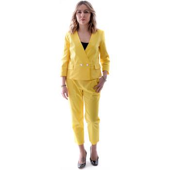 Abbigliamento Donna Completi Fracomina FR20SP090 Giallo