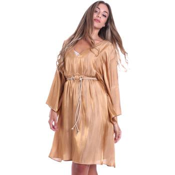 Abbigliamento Donna Abiti corti Fracomina FR20SMELISABETH Oro