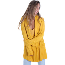 Abbigliamento Donna Giacche / Blazer Fracomina FR20SM648 Giallo