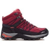 Scarpe Donna Sneakers alte Cmp Rigel Mid Wmn WP Nero,Grigio,Bordeaux