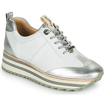 Scarpe Bambina Sneakers basse JB Martin 4CANDIO Argento / Bianco