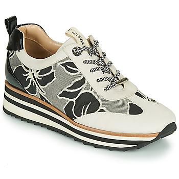 Scarpe Bambina Sneakers basse JB Martin 4CASSIE Grigio / Nero