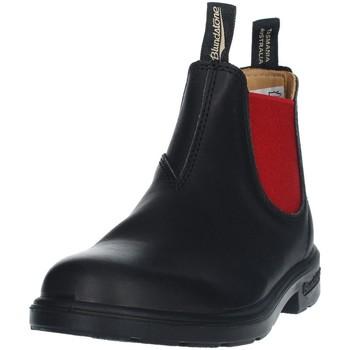 Scarpe Unisex bambino Stivaletti Blundstone 581 Beatles KID UNISEX BLACK RED BLACK RED