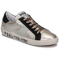 Scarpe Donna Sneakers basse Meline NK1382 Bronzo / Nero